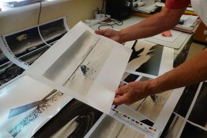 Checking the first printing proofs